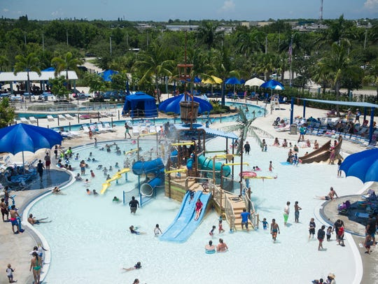 Sailfish Splash Waterpark in Stuart opened in 2012. Attendance peaked that first year and has fallen by more than half since then.