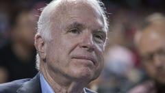 In his forthcoming memoir, Sen. John McCain, R-Ariz.,