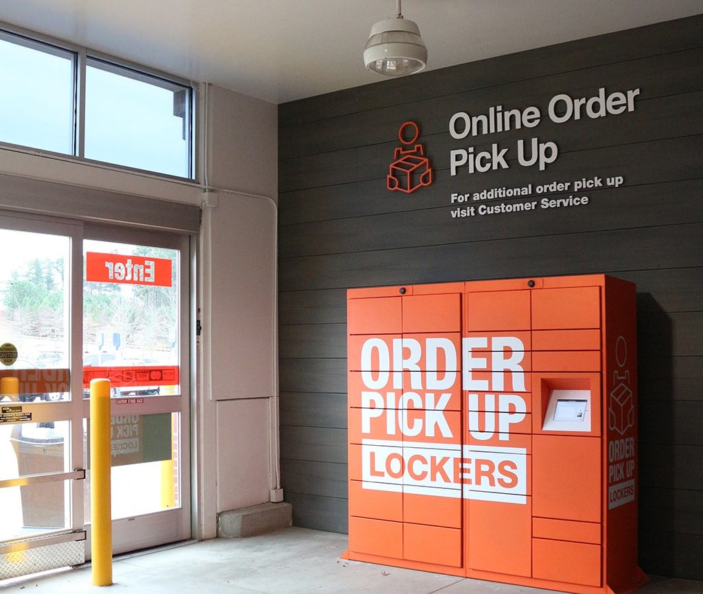 Home Depot Is Introducing Lockers In Its Stores So