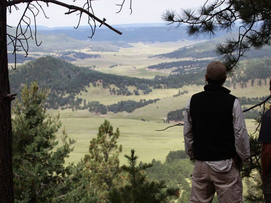 Wonderful views await the adventurous hiker at Valles Caldera National Preserve.