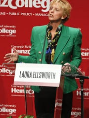 Laura Ellsworth, one of the candidates seeking the