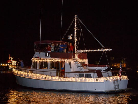 Ramblin' Rose is all lit up during a previous Marco