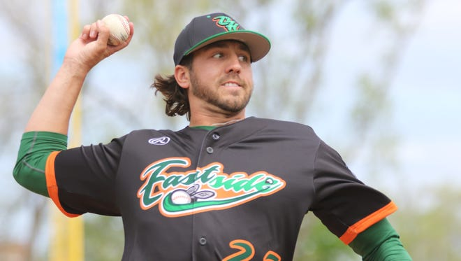 Birmingham native Keaton Aldridge is playing this summer for the Eastside Diamond Hoppers in the USPBL and still entertaining dreams of returning to a Major League Baseball affiliate.