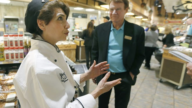 Chef with the innovation team, Deborah Alimentato, explains her role in the company.