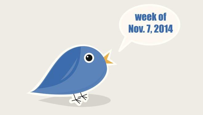 Top 10 Arizona tweets, week of Nov. 7, 2014.