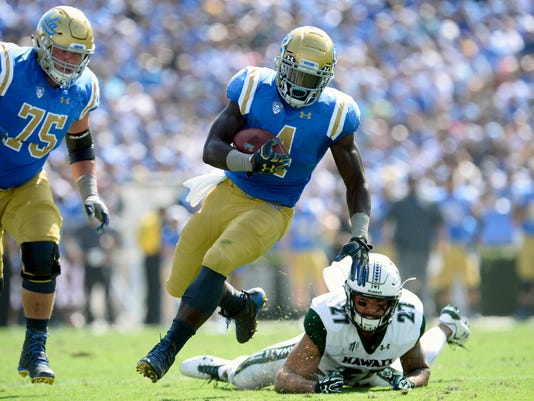 NCAA Football: Hawaii at UCLA