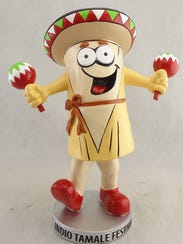 Saturday-Sunday: Mr. Tamale is the official Bobblehead of the Indio Tamale Festival.