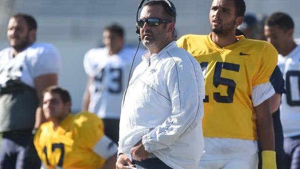Nevada offensive coordinator Nick Rolovich has been