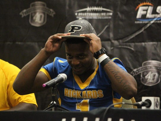 Rickards running back Destin Coates commits to Purdue