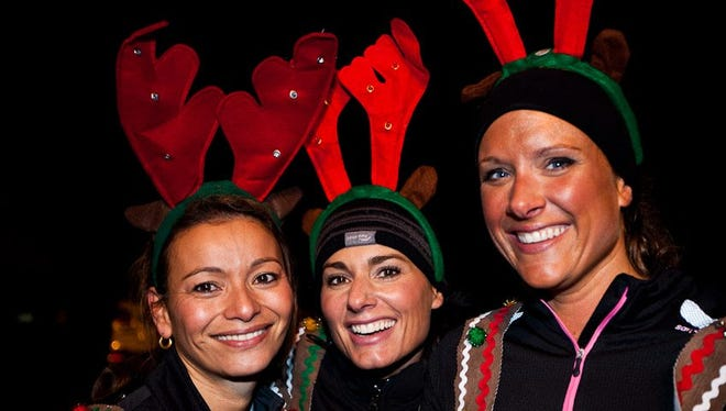 Holiday accessories are encouraged at the Jingle Dash 5K. The run takes place at 3:30 p.m. Saturday, Dec. 19, in Keizer.