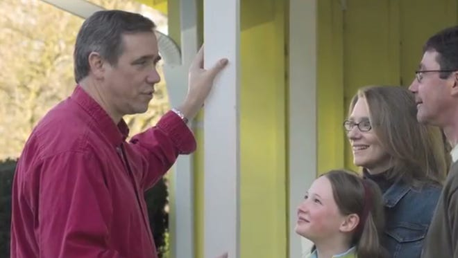 Jeff Merkley releases his first ad in his campaign for U.S. Senate.
