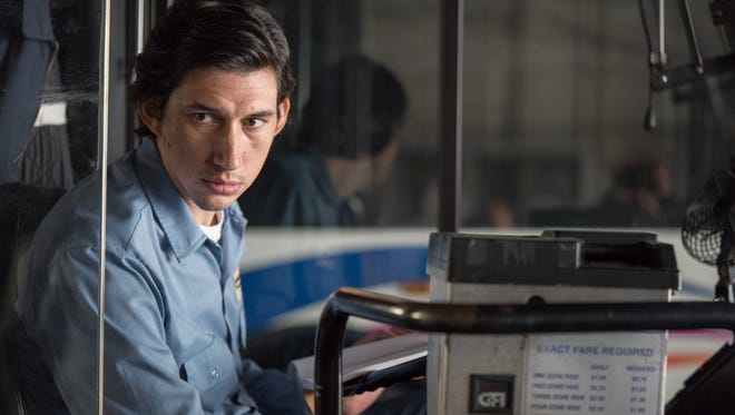 In 'Paterson,' Adam Driver plays a diffident New Jersey bus driver who writes love poems about his wife.