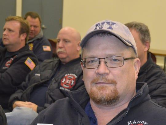 Mahopac Volunteer Fire Department Vice Chairman Ed