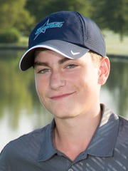 Josh Halasz, 16, Siegel High School golf team member.