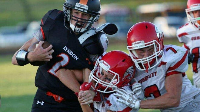 Luke Detwiler and Lyndon avenged a regular-season loss to Centralia in last Friday's Class 1A state quarterfinals. This week, the Tigers hope to upset No. 1 Olpe, which beat them earlier this season, as well.