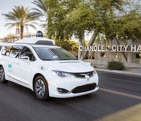 Waymo is now testing its self-driving system with a fleet of specially modified Chrysler Pacifica Hybrid minivans.