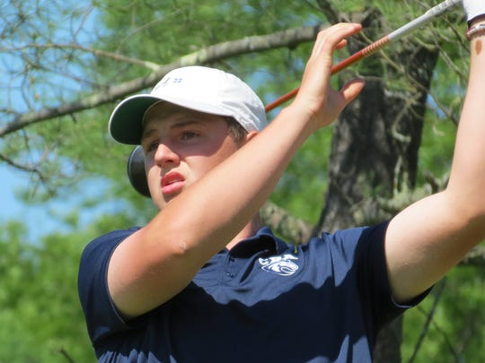 Christian Brothers Academy junior Jack Wall won the NJSIAA Boys Golf Tournament of Champions title at Hopewell Valley Golf Club in Hopewell on Monday, May 21.