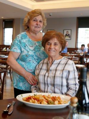 Filomena Ruggiero, left, and Grace Vitiello of T&J Restaurant and Pizzeria in Port Chester, Nov. 9, 2016.