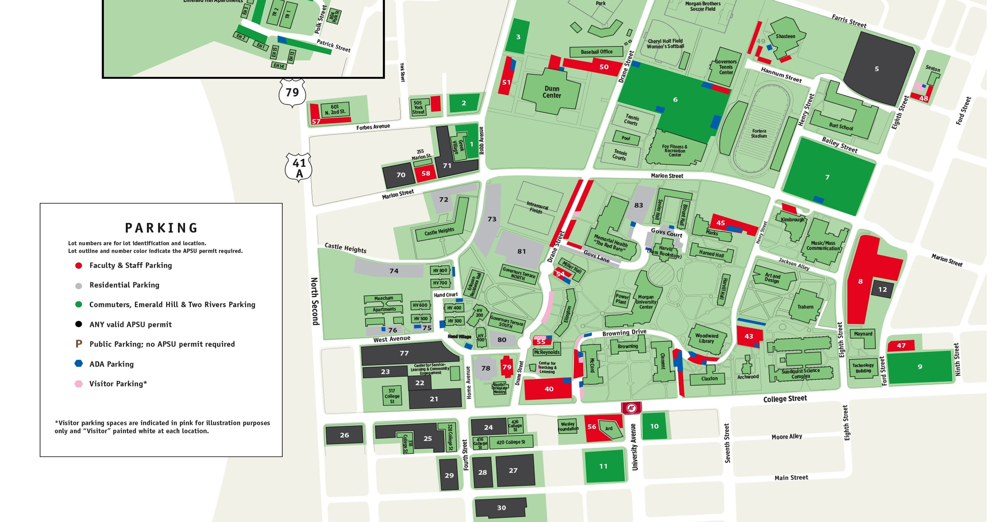 Austin Peay gains 650 additional parking spots