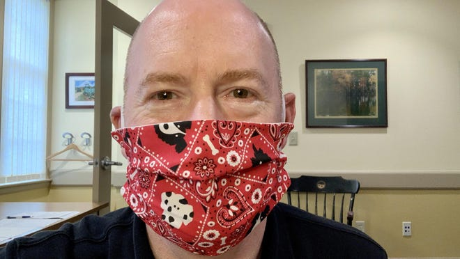 Durham Town Administrator Todd Selig said Tuesday he is ready to move forward with creating an ordinance mandating members of the public wear masks or face coverings during the coronavirus pandemic.