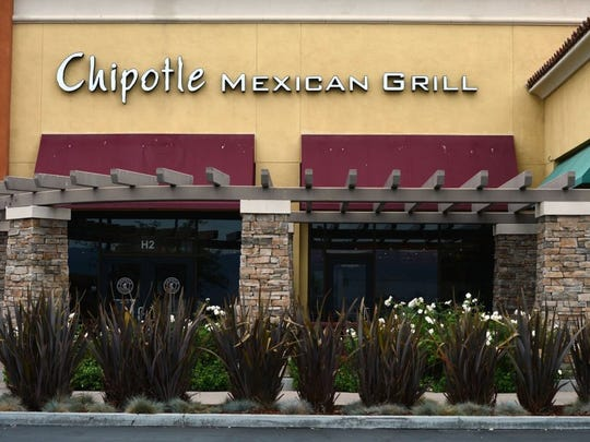 STAR FILE PHOTO The Chipotle Mexican Grill in Simi Valley.