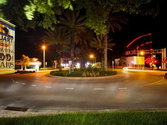 The confluence of Southeast Ocean Boulevard, South Colorado and Southwest Flagler avenues and South Dixie Highway in downtown Stuart is famously called Confusion Corner.