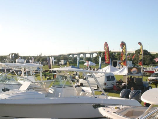 The 35th annual Vero Beach Spring Boat Show is 10 a.m. to 5 p.m. Saturday and 10 a.m. to 4 p.m. Sunday at Riverside Park.