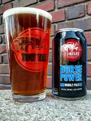 The Horse Power Double Pale Ale from Tow Yard Brewing, located Downtown.