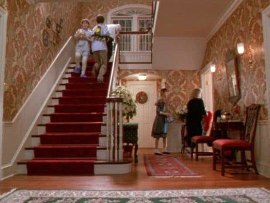 The infamous stair case