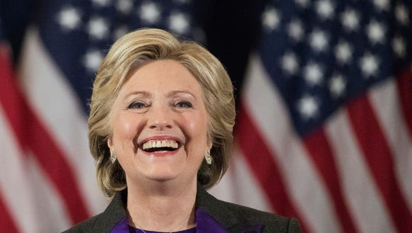 Hillary Clinton gives her concession speech in New