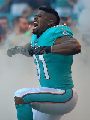 Miami Dolphins defensive end Cameron Wake