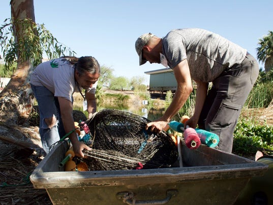 Phoenix Zoo turtle-trapping