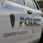 Greenfield Police patrol car.