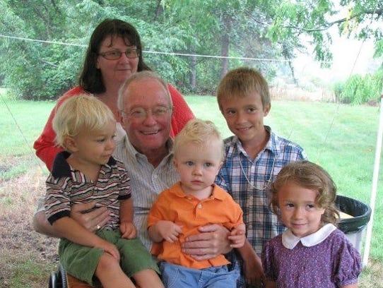From left: George Hartman, Roger Hartman, Diane Dattoria,