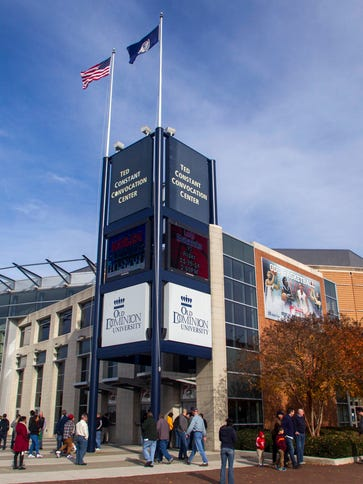 An overall view of the Constant Convocation Center