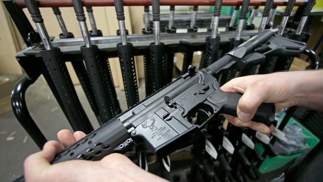 Required background checks for private party gun sales and transfers are on hold for now in Nevada.