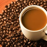 Scientists said coffee at temperatures under 150 degrees is safe to drink.