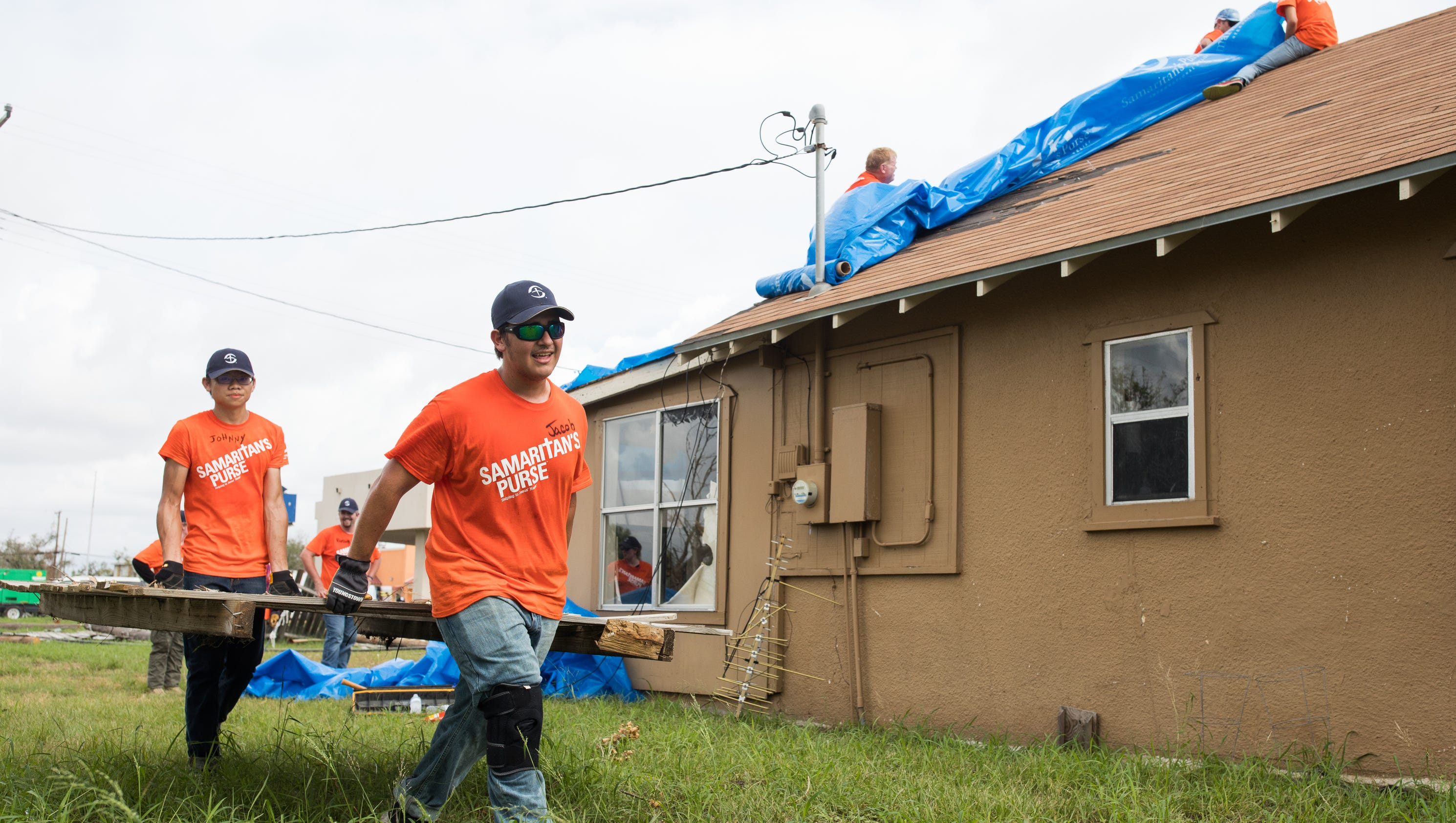 Samaritan S Purse Volunteers Begin Recovery In Aransas Pass