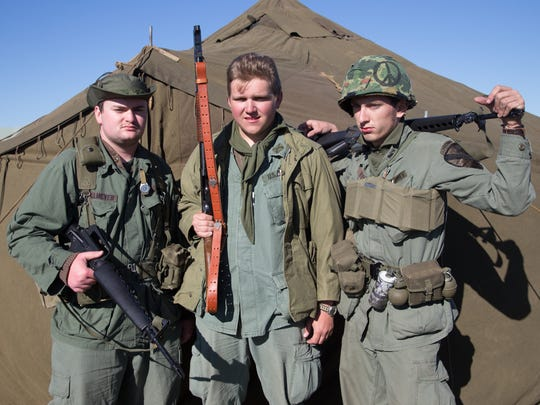 Re-enactors will be dressed in full World War II 101st Airborne Division uniforms and regalia and carry all types of small arms used during the war during the re-enactment at the Stuart Air Show on Nov. 5 and 6.