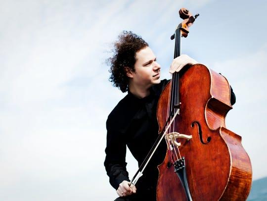 Cellist Matt Haimovitz performs Jan. 15, 2017, at the