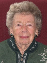 Dorothy Rogers Wallace, a 1936 graduate of Great Falls
