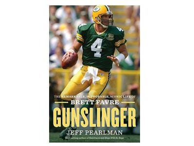 Gunslinger, the biography of Brett Favre writen by Jeff Pearlman is on sale now.  Get yours before they're gone!