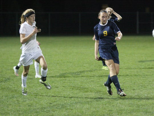 Woodmore's Katie Brugger eyes action in front of her
