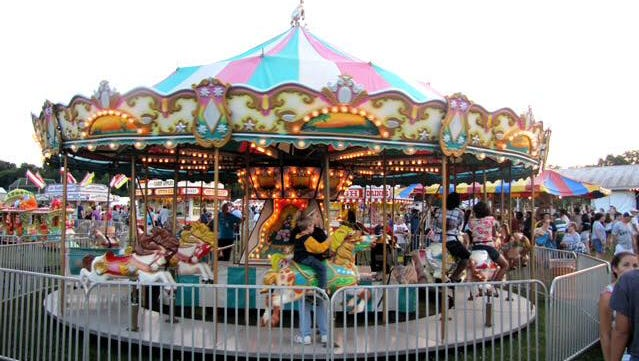 """The Playland Amusements carousel will be part of the Groton Business Association's """"Community Spirit Day,"""" which will be held May 12-14."""