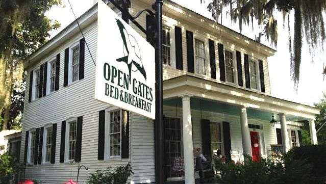 Open Gates Bed and Brekfast in Darien, Georgia, is a great place to stay when you need a weekend getaway.