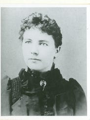 Laura Ingalls Wilder, pictured at age 27.