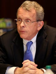"""Ohio Attorney General Mike DeWine, pictured, is warning that many """"work-from-home"""" offers are actually scams."""