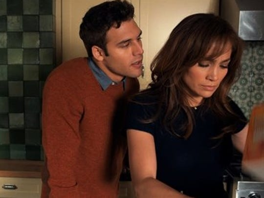 "Ryan Guzman is Noah whose affair with Jennifer Lopez as Claire Peterson leads to trouble in ""The Boy Next Door."""