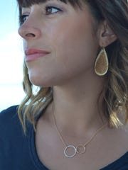Tahoe-based jewelry artist Casey Wold uses mixed metals
