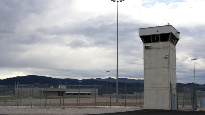 The Ely State Prison near Ely, Nev., is shown on July 11, 2018.